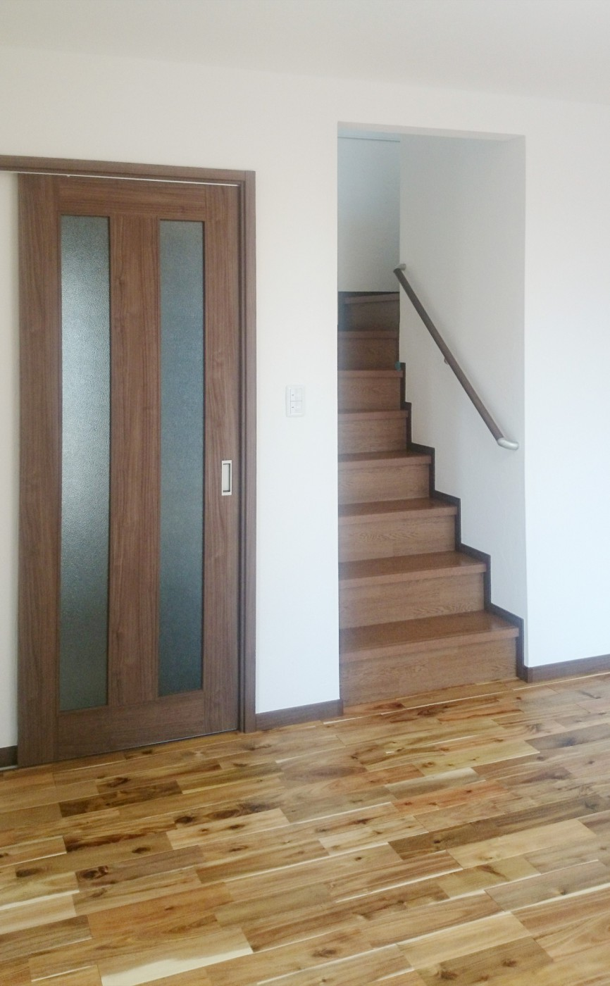 ご夫婦の『家族の在り方』にはリビング階段が必須でした。